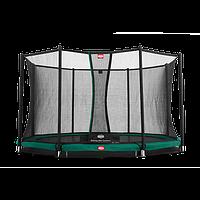 Батут Berg InGround Favorit 380 + Safety Net Deluxe 380