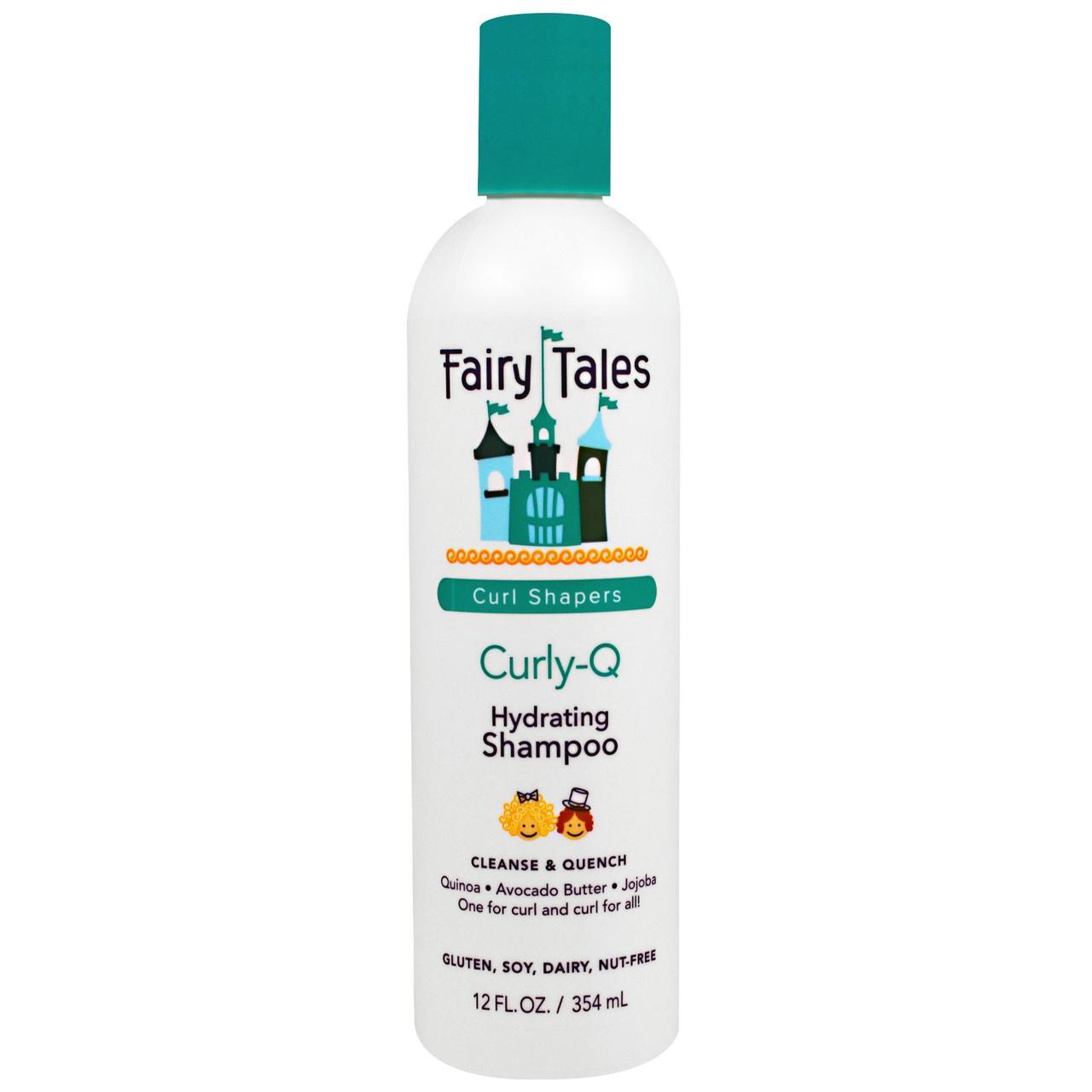 Fairy Tales, Кудри-Q, увлажняющий шампунь для вьющихся волос, 12 жидких унций (354 мл)