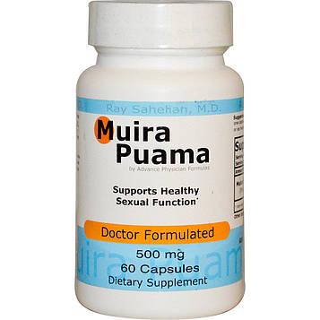 Advance Physician Formulas, Inc., Муира Пуама, 500 мг, 60 капсул