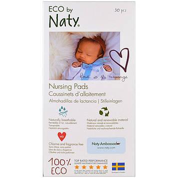 Naty, Вкладыши в бюстгалтер для кормящих женщин, 30 вкладышей