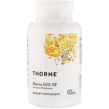 Thorne Research, Мерива 500-SF , 120 вегетарианских капсул