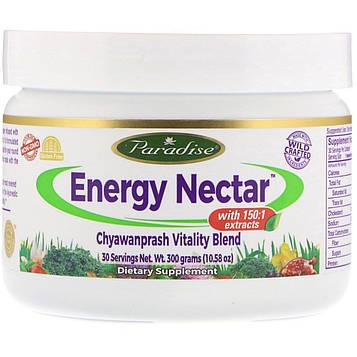 Paradise Herbs, Энергетичекий нектар с чаванпрашем Vitality Blend, 300 г (10.58 oz)