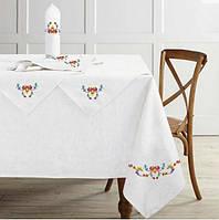 Скатертину на кухонний стіл + серветки 150x150