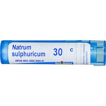 Boiron, Single Remedies, Сульфат натрия, 30C, прибл. 80 гранул