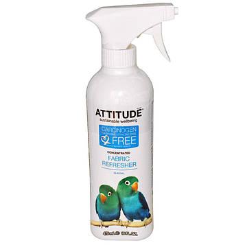 ATTITUDE, Концентрированный освежитель ткани, ледяной, 475 мл (16 жидких унций)