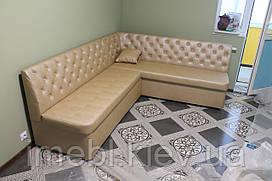 Кухонный диван со спальным местом (Карамельный)