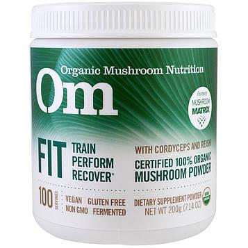 OM Organic Mushroom Nutrition, В хорошей форме, грибной порошок, 7.14 унций (200 г)