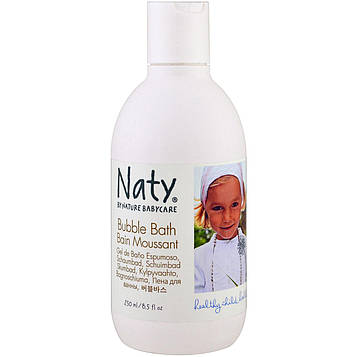 Naty, Пена для ванны, 8,5 жидких унций (250 мл)