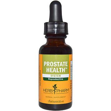Herb Pharm, Здоровье предстательной железы, система, 1 жидкая унция (30 мл)