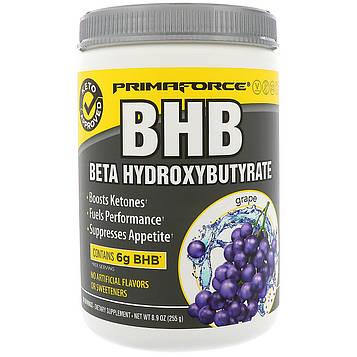 Primaforce, BHB, Бета-гидроксибутират, виноград, 8,9 унц. (255 г)