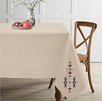 Скатертину на стіл льон 150x175