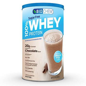 Biochem, 100% сывороточный протеин в порошке без сахара со вкусом шоколадной помадки, 15.2 унции (431 г)