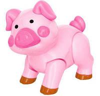 Игрушка серии Домашние животные Свинка Kiddieland 56945