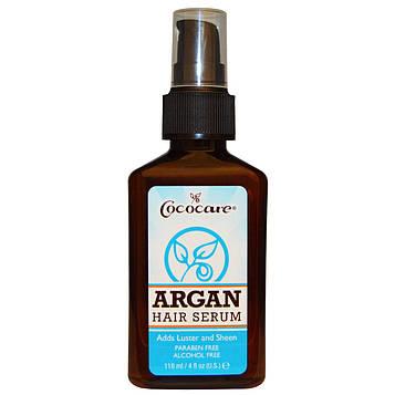 Cococare, Argan Hair Serum , 4 fl oz (118 ml)
