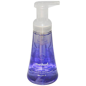 Method, Пена для мытья рук, французская лаванда, 10 жидких унций (300 мл)
