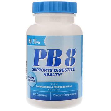 Nutrition Now, PB8, оригинальный состав, 120 капсул