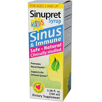 Bionorica, Детский сироп Sinupret, 3,38 жидких унций (100 мл)