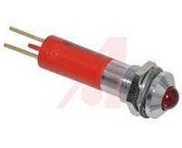 Индикатор светодиодный 8 мм красный 220 AC 19510430, фото 1