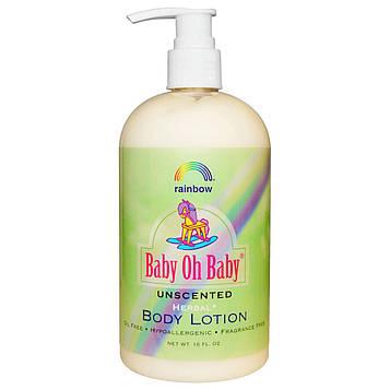 Rainbow Research, Baby Oh Baby, лосьон для тела, не содержит ароматизаторы, 470 мл.