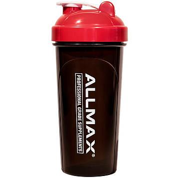 ALLMAX Nutrition, Leak-Proof Shaker, BPA-FREE Bottle with Vortex Mixer, 25 oz (700 ml)