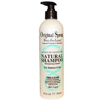 Original Sprout Inc, Натуральный шампунь, для младенцев и старше, 12 жидких унций (354 мл)