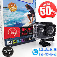Экшн-камера SJ4000 FULL HD 1080P DVR Sport Аналог Go Pro Гоу Про Спорт