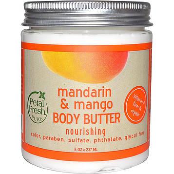 Petal Fresh, Pure, Масло для тела, питательное, мандарин и манго, 8 унций (237 мл)