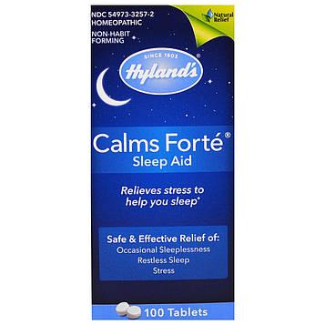 Hylands, Успокаивает форте, Sleep Aid, 100 таблеток