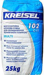 Клейова суміш для плитки Крайзель (Kreisel) 102, 25 кг