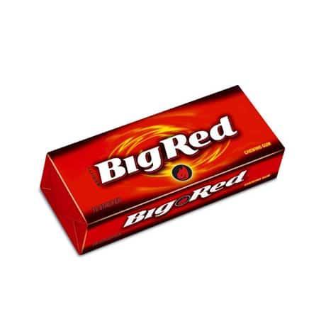 Жувальна гумка з корицею wrigley's «Big Red» (15 платівок)