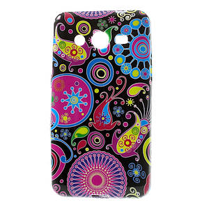 "Чехол TPU на Samsung Galaxy Core 2 G355H ""Colorized Pattern"""