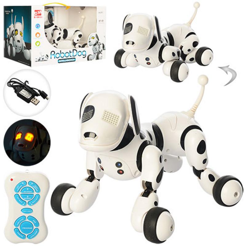 Робот собака интерактивная 9007А радиоуправление, аккумулятор, язык англ.