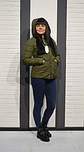 Куртка хаки осенняя 1802 L размер