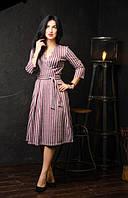 Модное платье с юбкой полусолнцеклеш