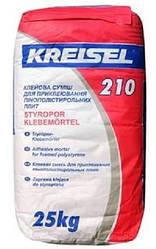 Клеевая смесь для приклеивания ППС плит Крайзель (Kreisel) 210, 25 кг