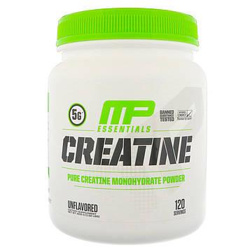 MusclePharm, Креатин Essentials, Без вкусовых добавок, 1,32 фунта (600 г)