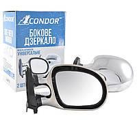 Зеркало боковое хром ВАЗ 2101/03/06 (2шт) Condor K1012