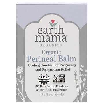 Earth Mama, Органический промежностный бальзам, 2 ж. унц. (60 мл)
