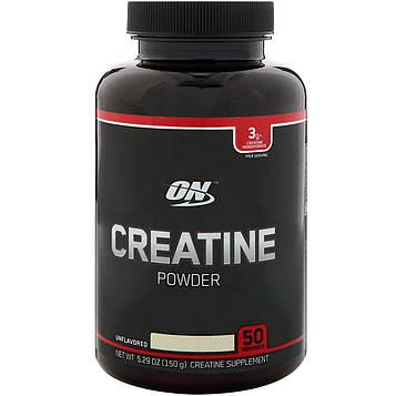 Optimum Nutrition, Креатин в порошке, Без ароматизаторов, 5,29 унц. (150 г)