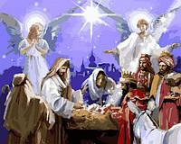 Картины по номерам 40×50 см. Рождество Христово Художник Ричард Макнейл, фото 1