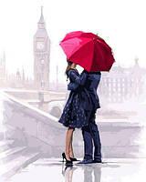 Картины по номерам 40×50 см. Влюбленные в Лондоне Художник Ричард Макнейл, фото 1