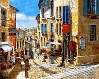 Картины по номерам 40×50 см. Сен-Эмильон Франция, фото 1