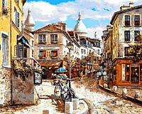 Картины по номерам 40×50 см. Монмартр Сакре-Кер, фото 1