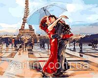 Картины по номерам 50×65 см. Париж - город влюбленных , фото 1