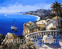 Картины по номерам 50×65 см. Ницца Франция - Жемчужина лазурного берега, фото 1