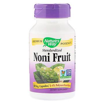 Natures Way, Noni Fruit, Standardized, 60 Veg Capsules