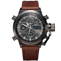 Водонепроницаемые наручные часы AMST AM3003 Brown КОД: 336232