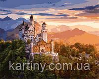 Картины по номерам 50×65 см. Замок Нойшванштайн, фото 1