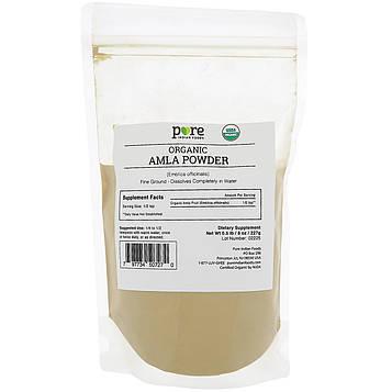 Pure Indian Foods, Органическая амла в виде порошка, 8 унц. (227 г)