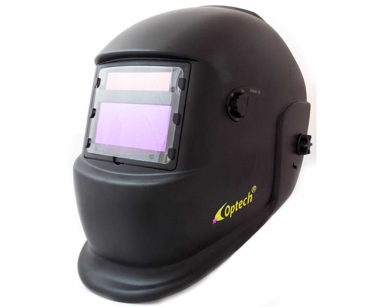 Сварочная маска хамелеон Optech S777C чёрная